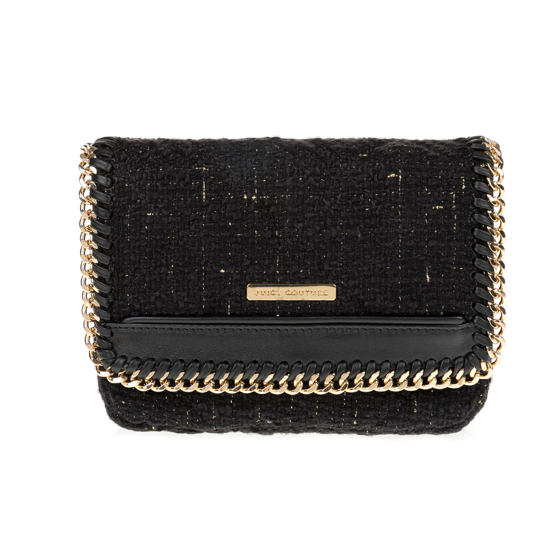 JUICY COUTURE – Γυναικεία τσάντα Juicy Couture μαύρη 1516792.0-0071