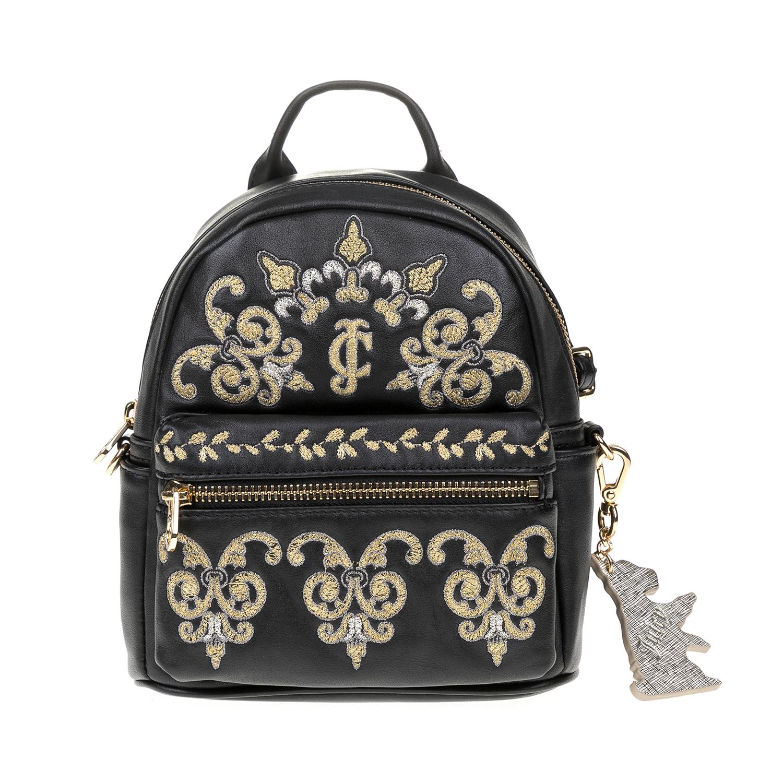 JUICY COUTURE – Γυναικεία τσάντα πλάτης JUICY COUTURE μαύρη 1516798.0-0071
