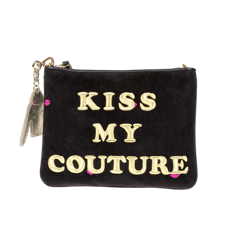 JUICY COUTURE – Γυναικεία τσάντα JUICY COUTURE μαύρη 1516799.0-0071