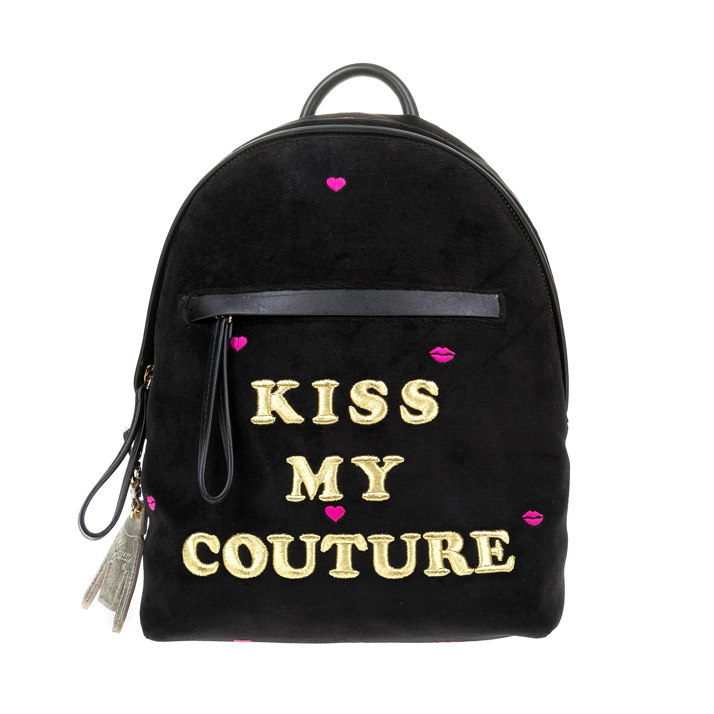 JUICY COUTURE – Γυναικεία τσάντα πλάτης JUICY COUTURE μαύρη 1516800.0-0071