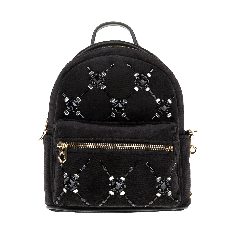 JUICY COUTURE – Γυναικεία τσάντα πλάτης JUICY COUTURE μαύρη 1516803.0-0071