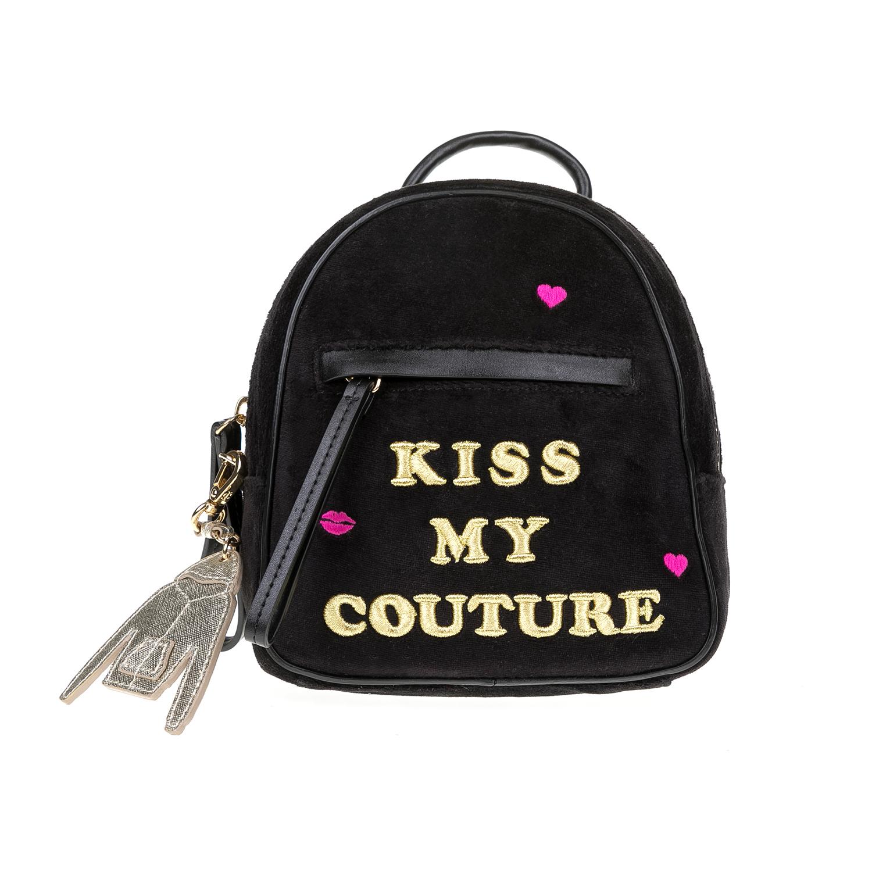 JUICY COUTURE – Γυναικεία τσάντα πλάτης JUICY COUTURE μαύρη 1516806.0-0071