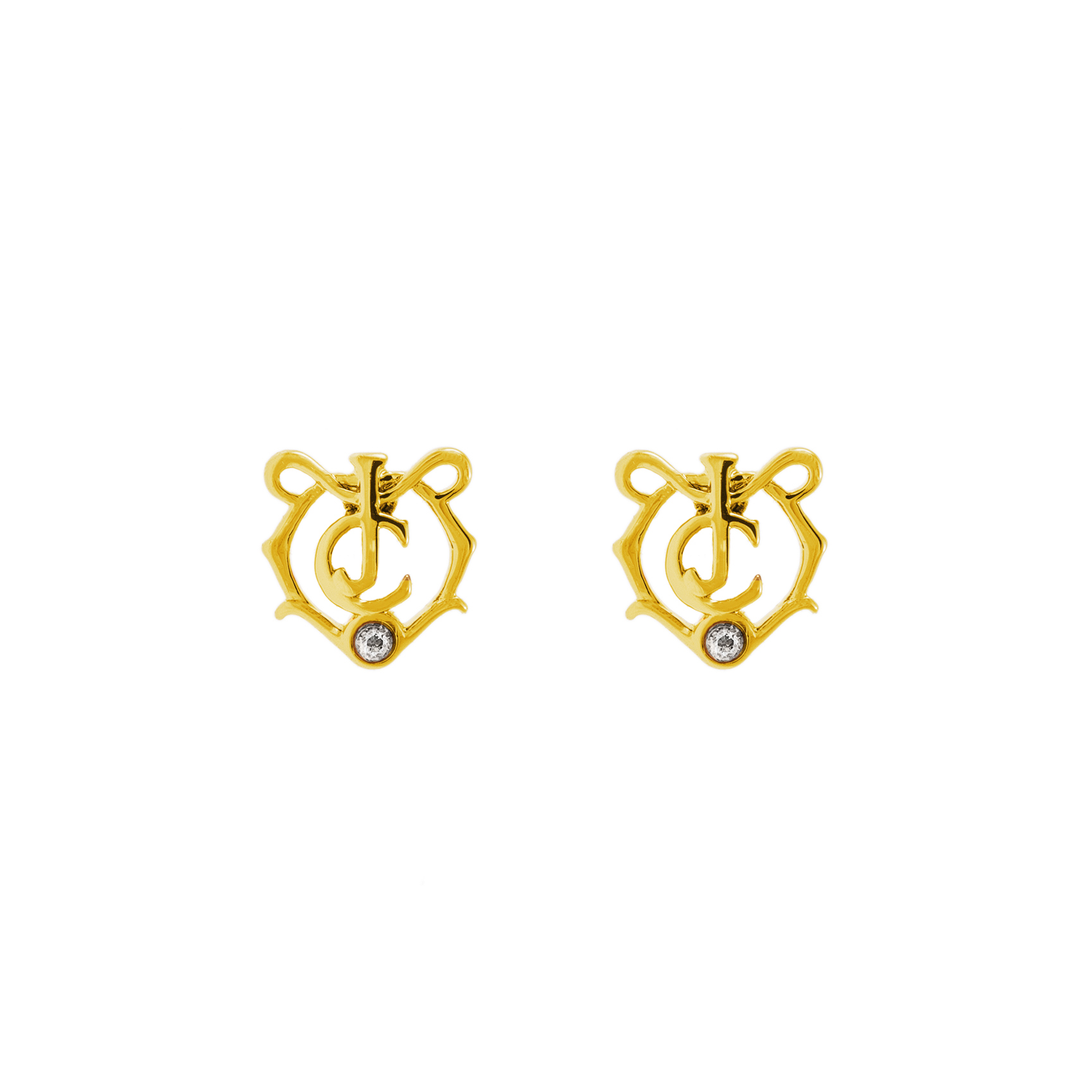 JUICY COUTURE – Σκουλαρίκια JC MEDALLION EXPRESSIONS JUICY COUTURE