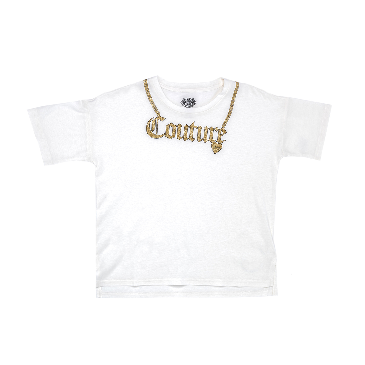 92d90fa3897a JUICY COUTURE KIDS - Παιδική μπλούζα JUICY COUTURE KIDS άσπρη