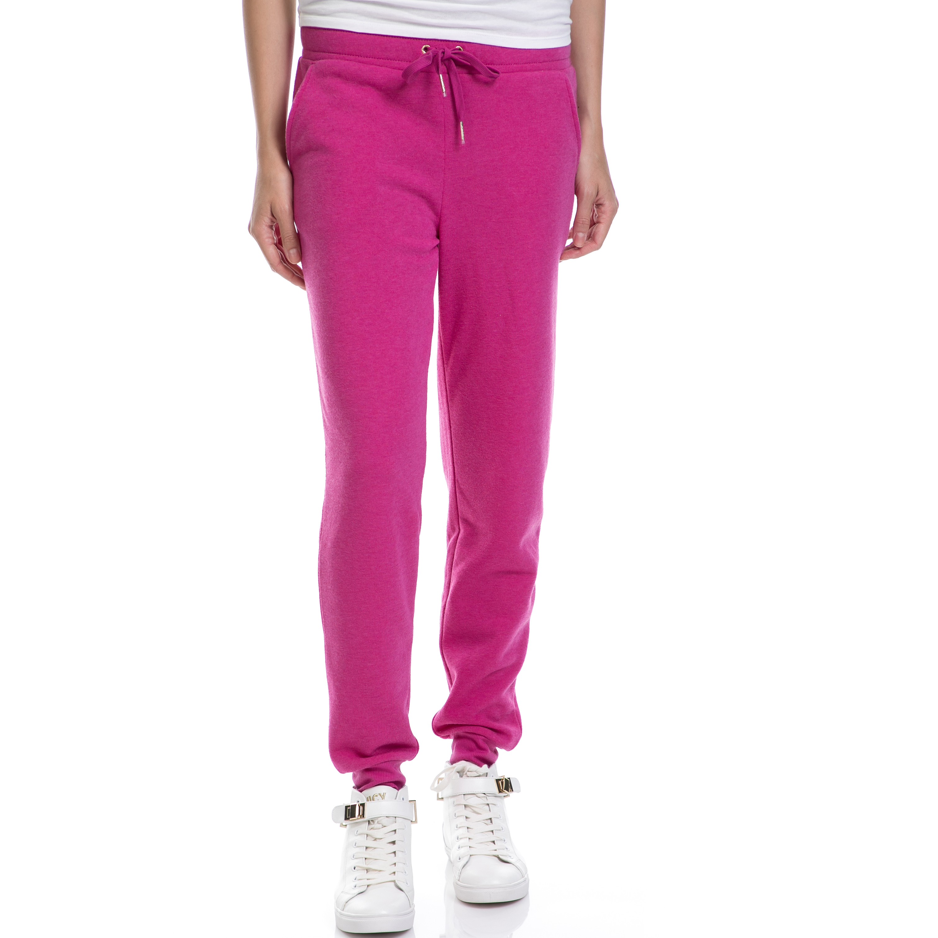 JUICY COUTURE – Γυναικείο παντελόνι JUICY COUTURE ροζ