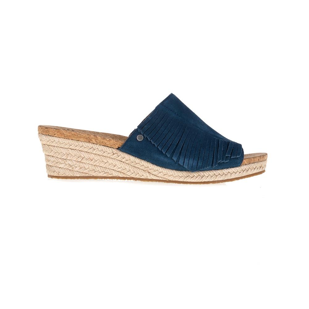 UGG AUSTRALIA - Γυναικείες πλατφόρμες Danes μπλε γυναικεία παπούτσια πλατφόρμες