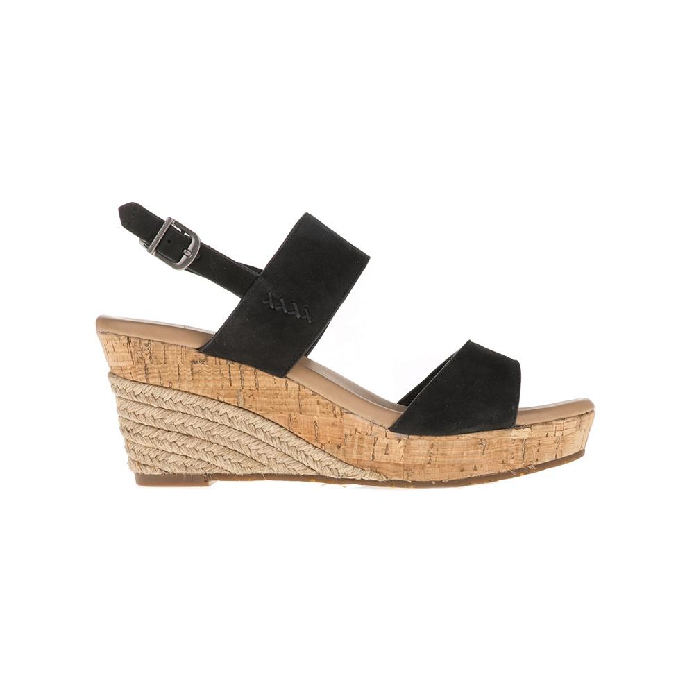 UGG - Γυναικείες πλατφόρμες UGG LUANN μαύρες γυναικεία παπούτσια πλατφόρμες
