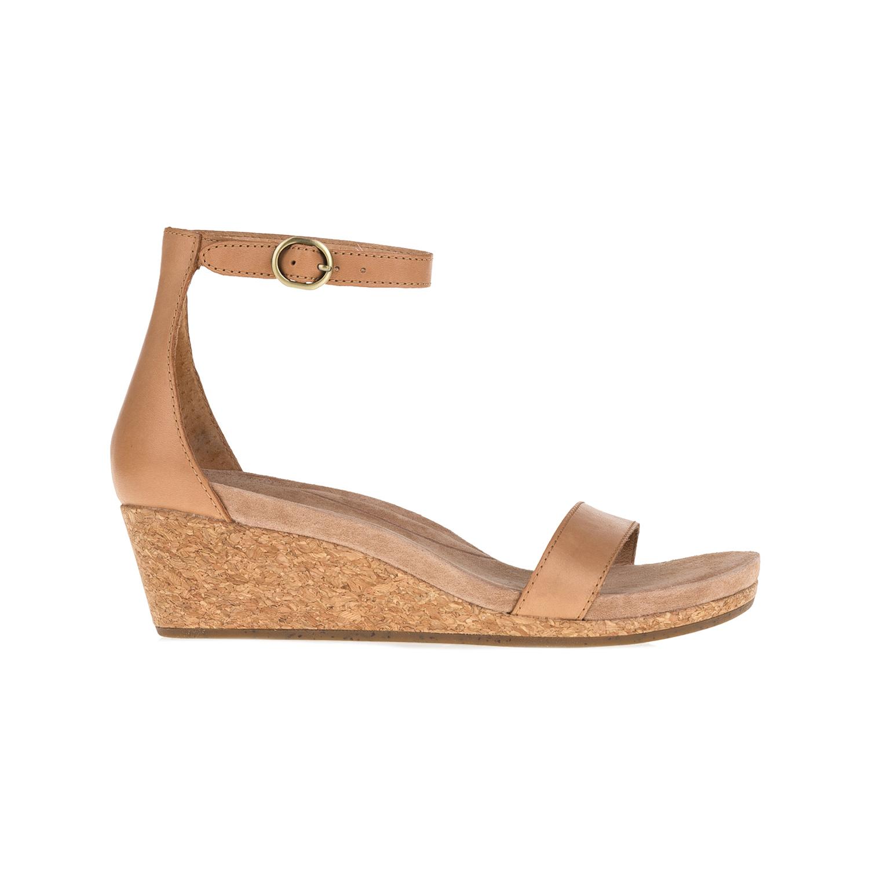 UGG AUSTRALIA - Γυναικείες πλατφόρμες Emilia μπεζ γυναικεία παπούτσια πλατφόρμες