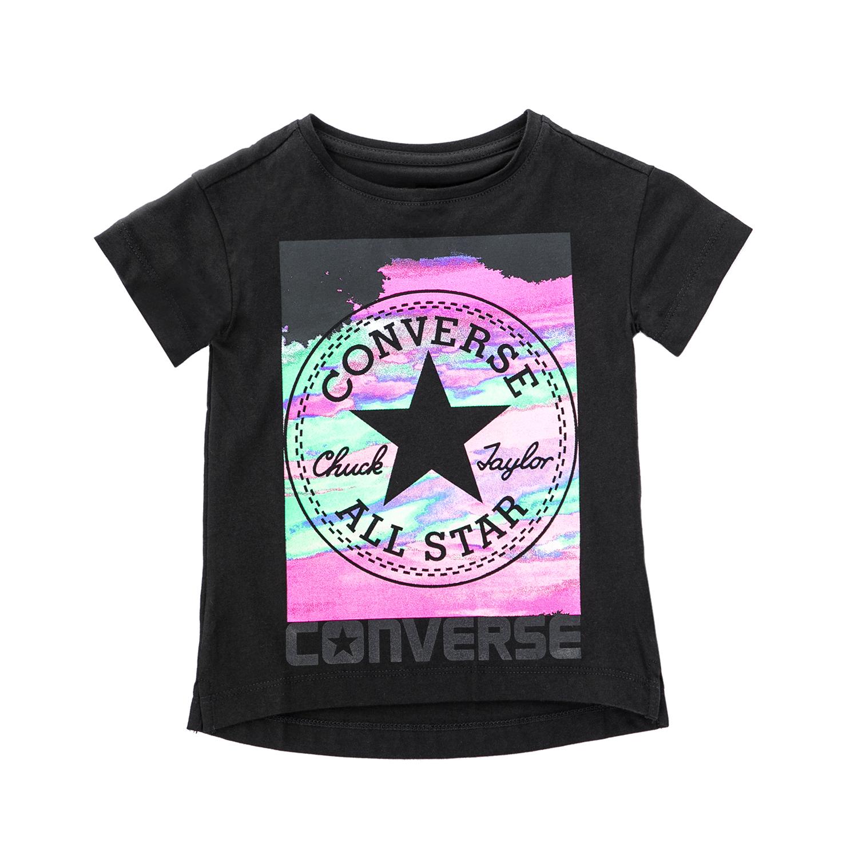 CONVERSE – Παιδική μπλούζα CONVERSE μαύρη