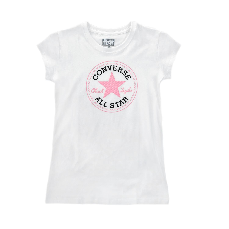 CONVERSE – Παιδική μπλούζα CONVERSE άσπρη