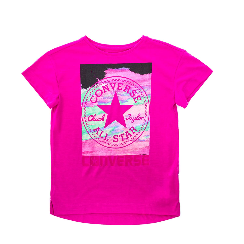 CONVERSE – Παιδική μπλούζα CONVERSE ροζ