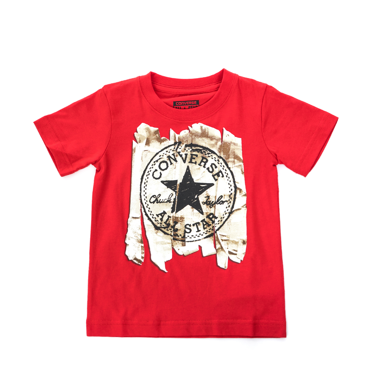 CONVERSE – Παιδική μπλούζα CONVERSE κόκκινη