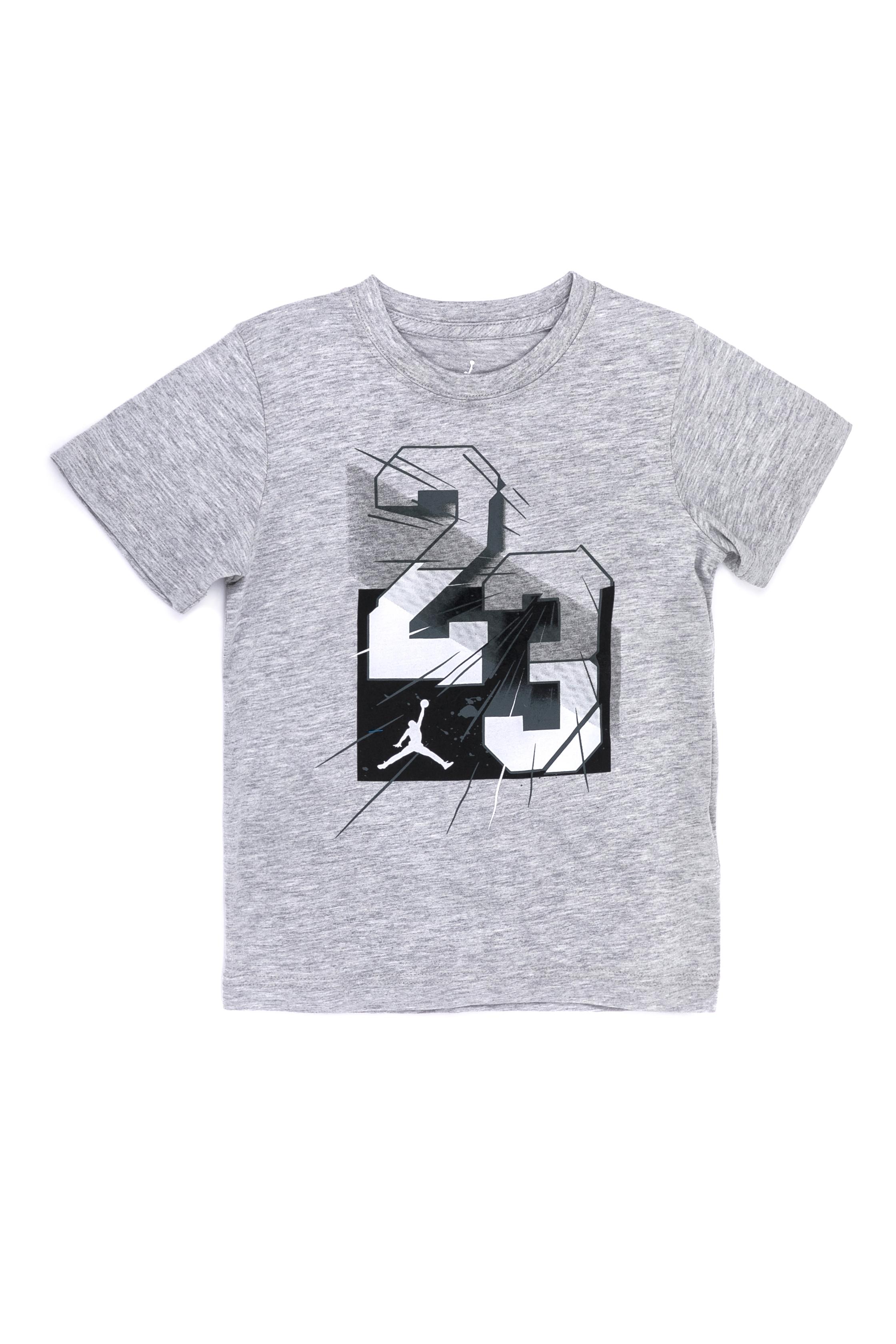 NIKE – Παιδική μπλούζα ΝΙΚΕ γκρι