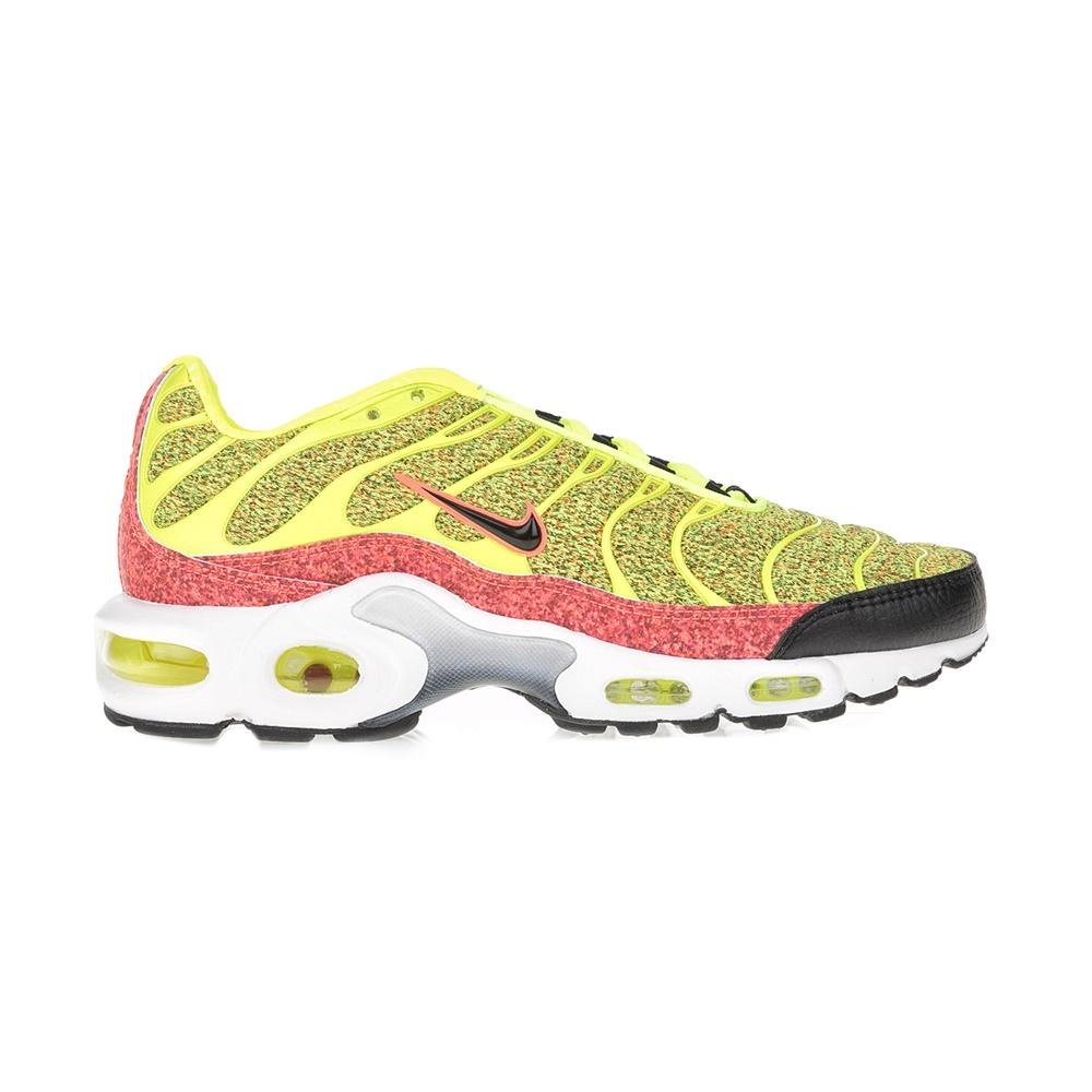 NIKE – Γυναικεία ανδρικά παπούτσια ΝΙΚΕ AIR MAX PLUS SE κίτρινα-μαύρα