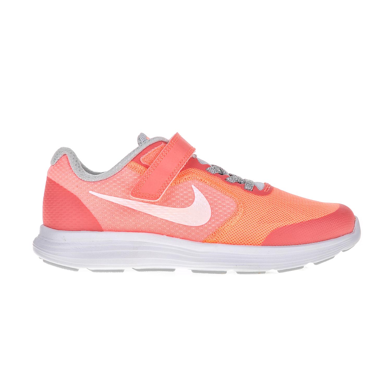 NIKE - Παιδικά αθλητικά παπούτσια NIKE REVOLUTION 3 SE (PSV) πορτοκαλί 484dcb23f8d