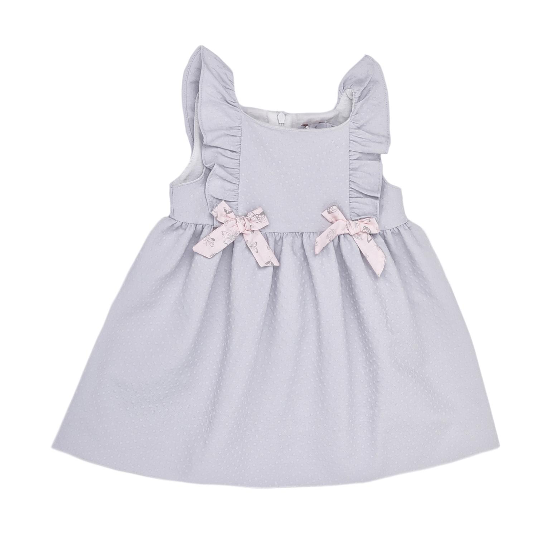 PATACHOU – Παιδικό φόρεμα PATACHOU γκρι