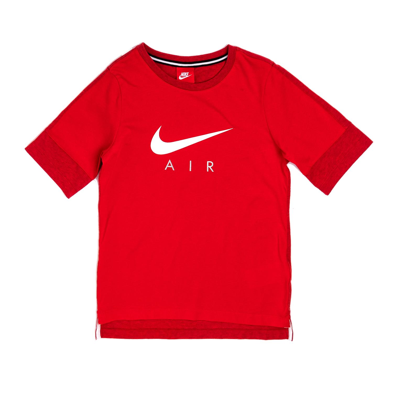 NIKE – Αγορίστικη κοντομάνικη μπλούζα Nike κόκκινη