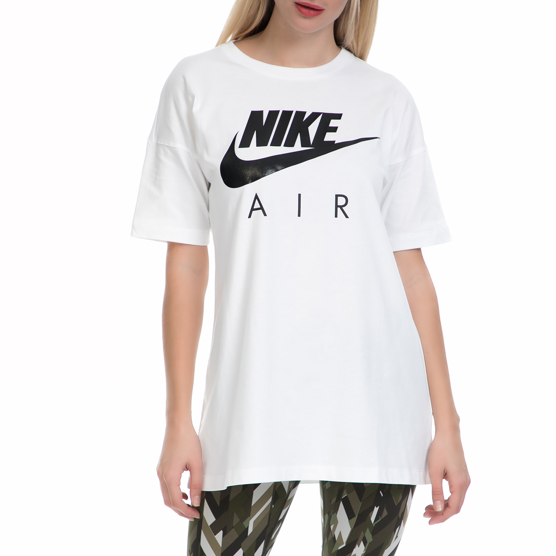 NIKE – Γυναικείο T-shirt ΝΙΚΕ NSW TOP SS AIR BF λευκό