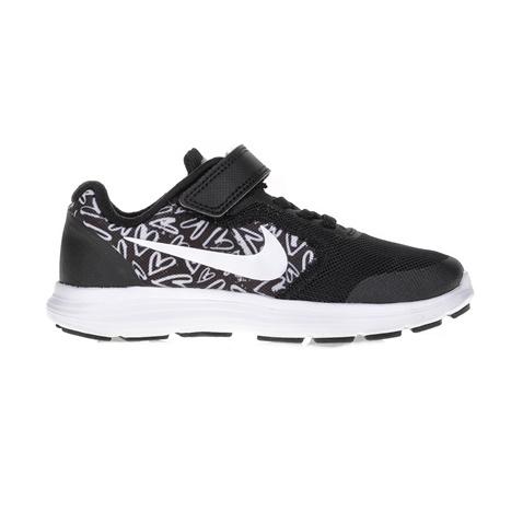 4fc3f7e5b40 Παιδικά αθλητικά παπούτσια NIKE REVOLUTION 3 PRINT (PSV) μαύρα ...
