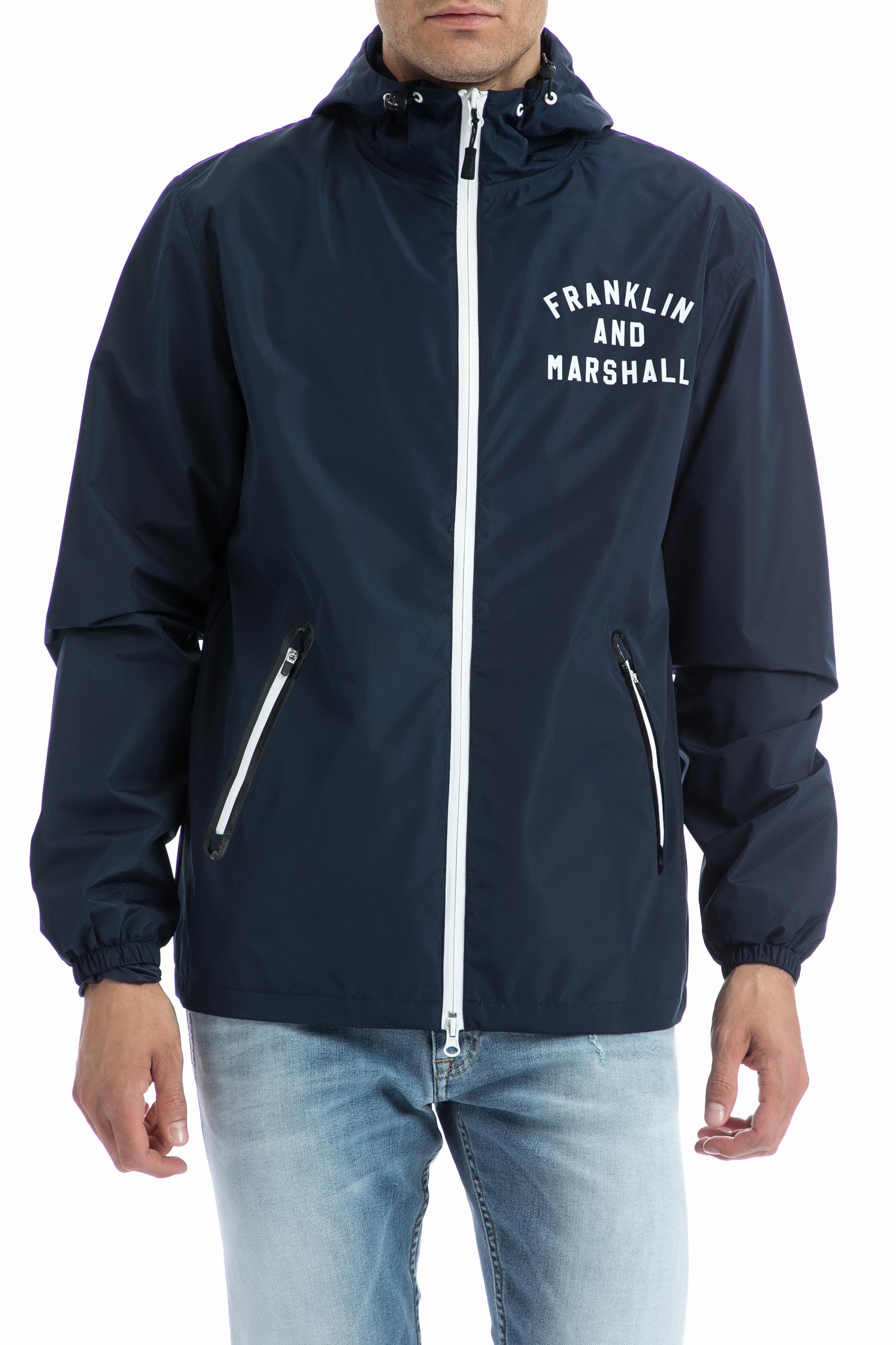 FRANKLIN & MARSHALL – Ανδρικό τζάκετ Franklin & Marshall μπλε