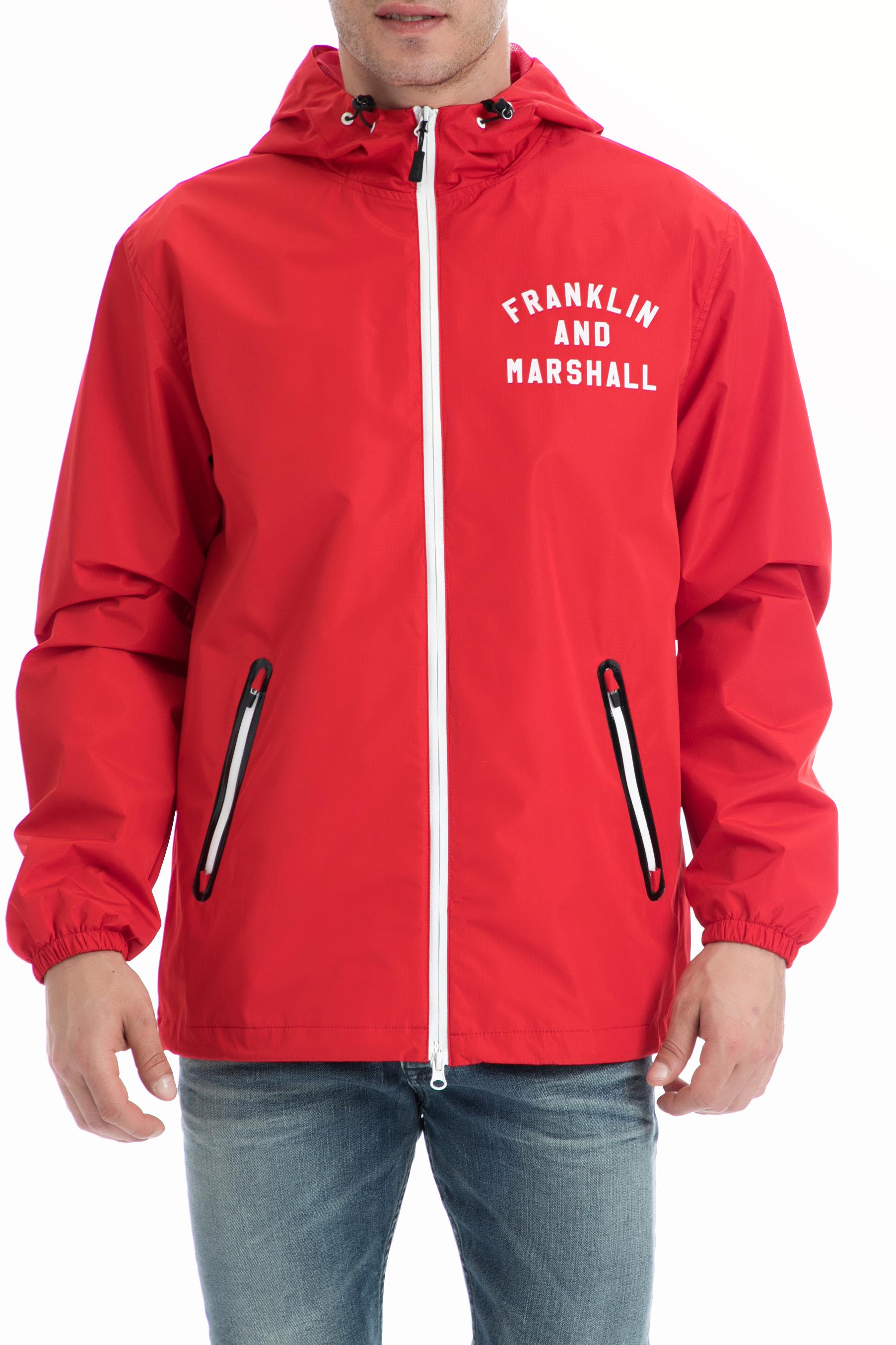 FRANKLIN & MARSHALL – Ανδρικό τζάκετ Franklin & Marshall κόκκινο