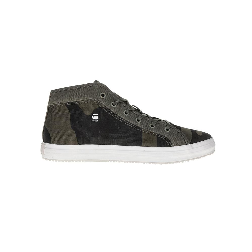 f155740b26b G-STAR RAW - Ανδρικά παπούτσια G-STAR KENDO MID CAMO χακί