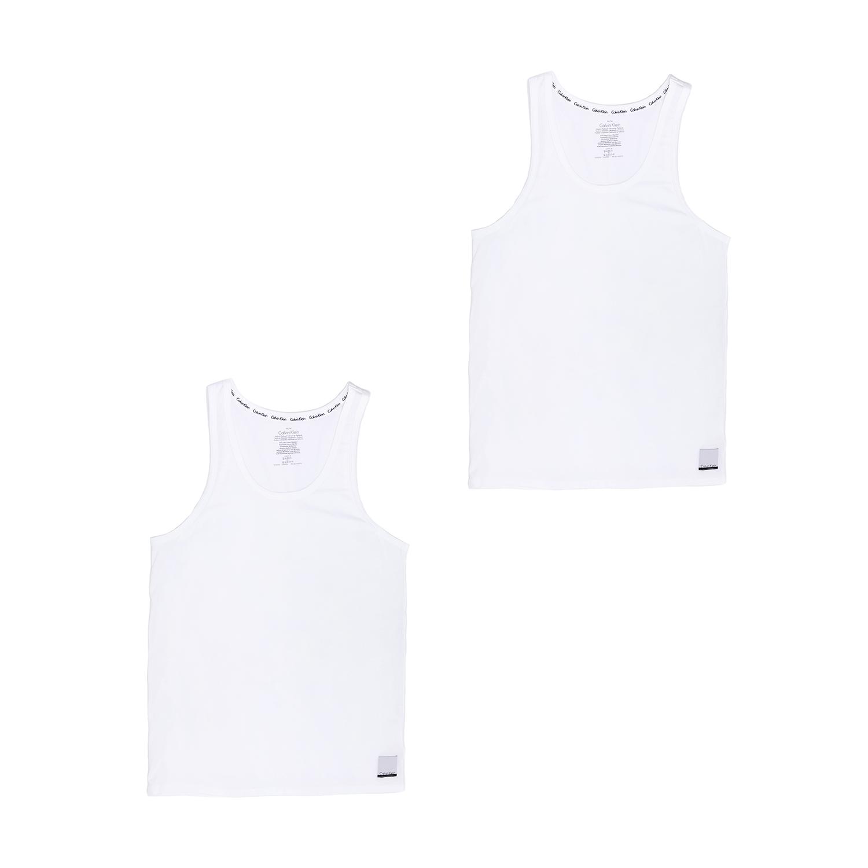 CK UNDERWEAR - Ανδρικό σετ φανέλες Calvin Klein λευκές ανδρικά ρούχα εσώρουχα φανέλες