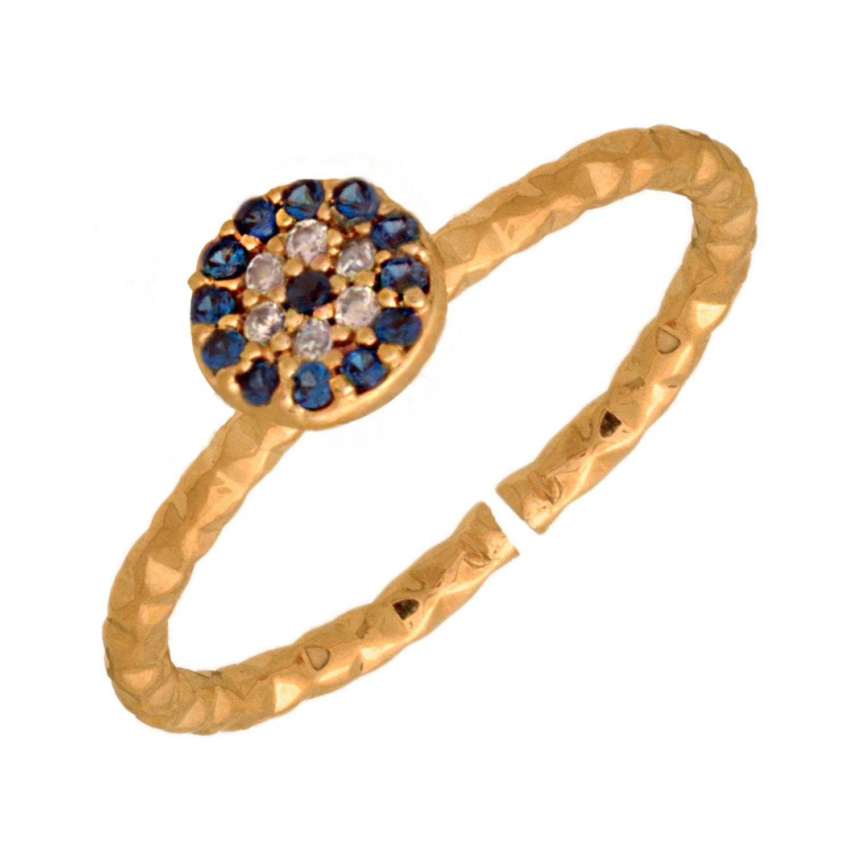 JEWELTUDE – Γυναικείο επίχρυσο δαχτυλίδι Jeweltude