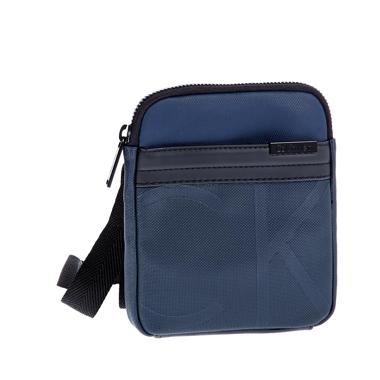 CALVIN KLEIN JEANS - Ανδρική τσάντα Calvin Klein Jeans μπλε ανδρικά αξεσουάρ τσάντες σακίδια ωμου