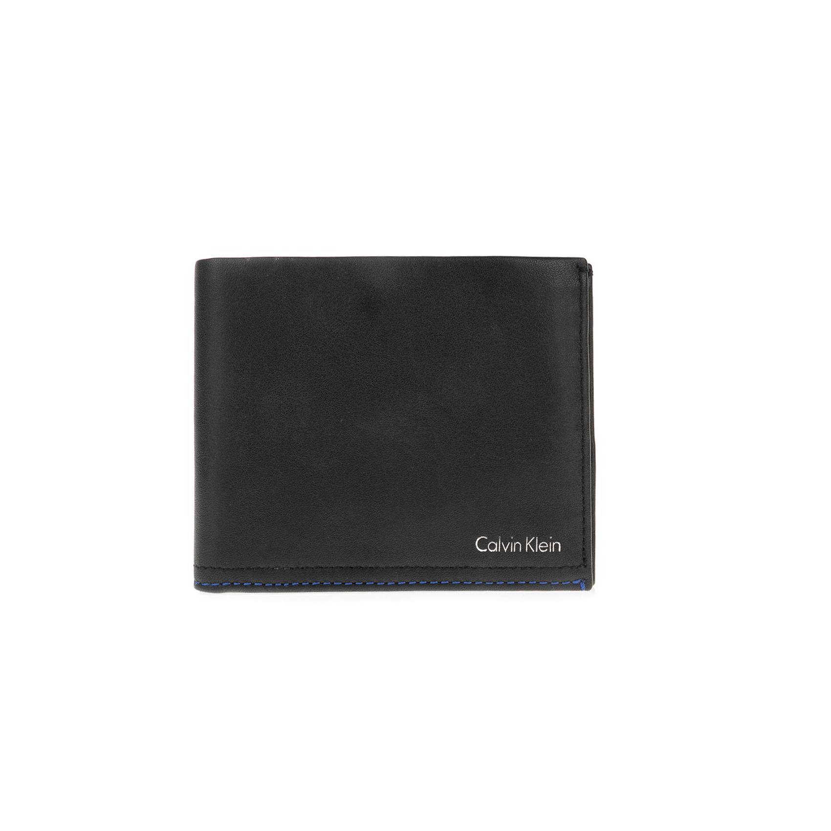 CALVIN KLEIN JEANS – Ανδρικό πορτοφόλι Calvin Klein Jeans μαύρο
