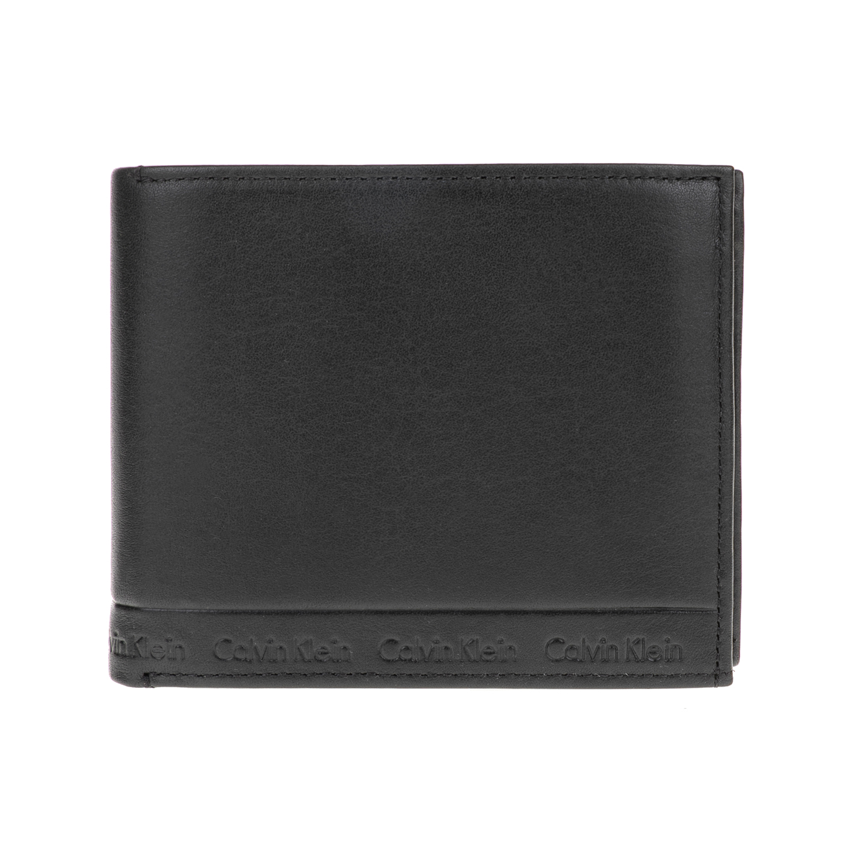 CALVIN KLEIN JEANS – Ανδρικό πορτοφόλι ARTHUR 10CC μαύρο