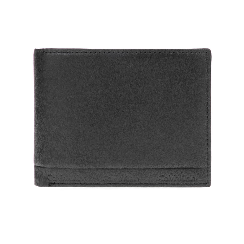 CALVIN KLEIN JEANS – Ανδρικό πορτοφόλι ARTHUR 5CC μαύρο