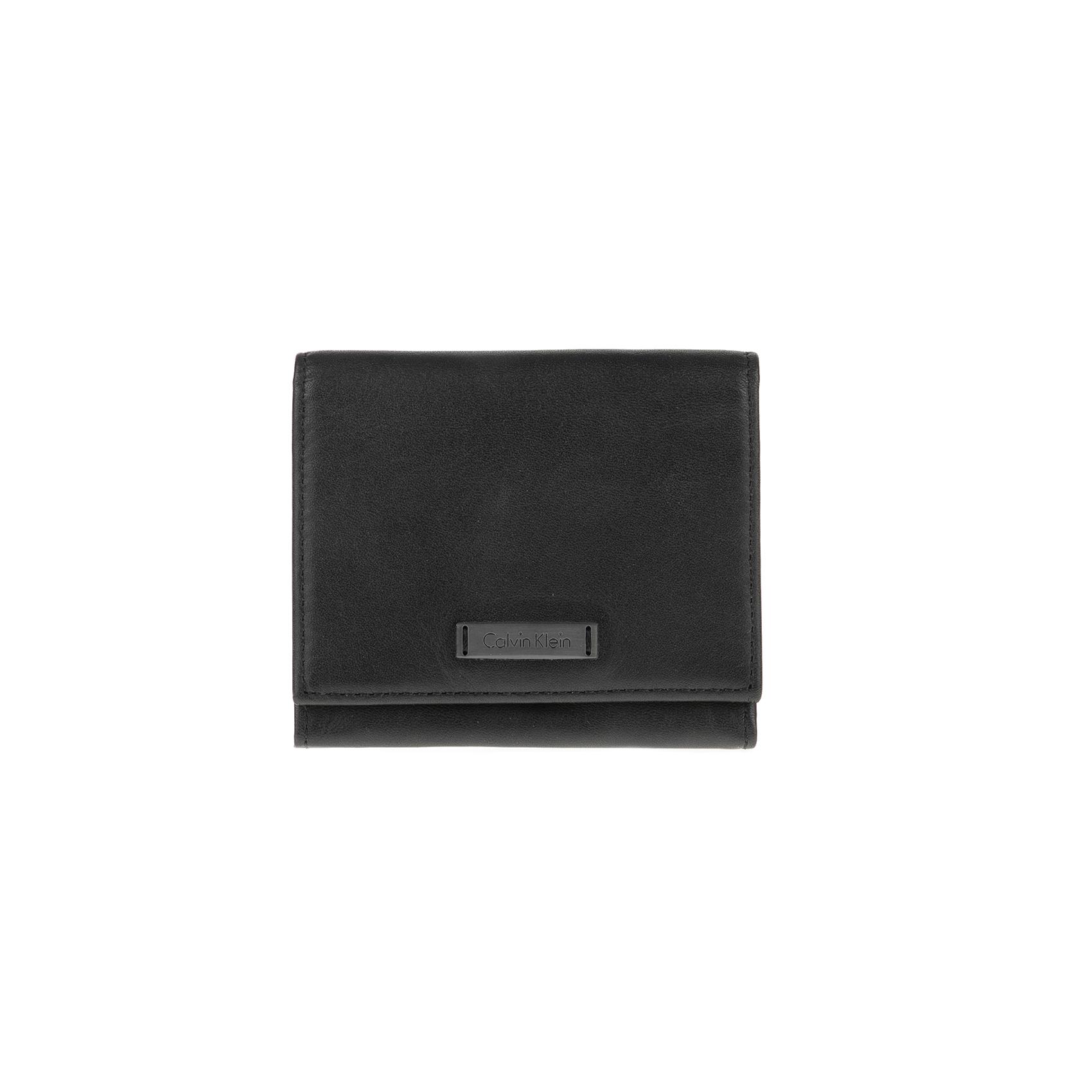 CALVIN KLEIN JEANS – Θήκη καρτών Calvin Klein Jeans μαύρη