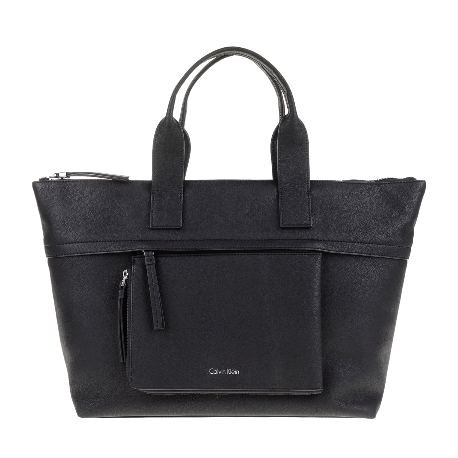 5ad60366f5 CALVIN KLEIN JEANS - Γυναικεία τσάντα χειρός CH4RLY LARGE TOTE μαύρη ...