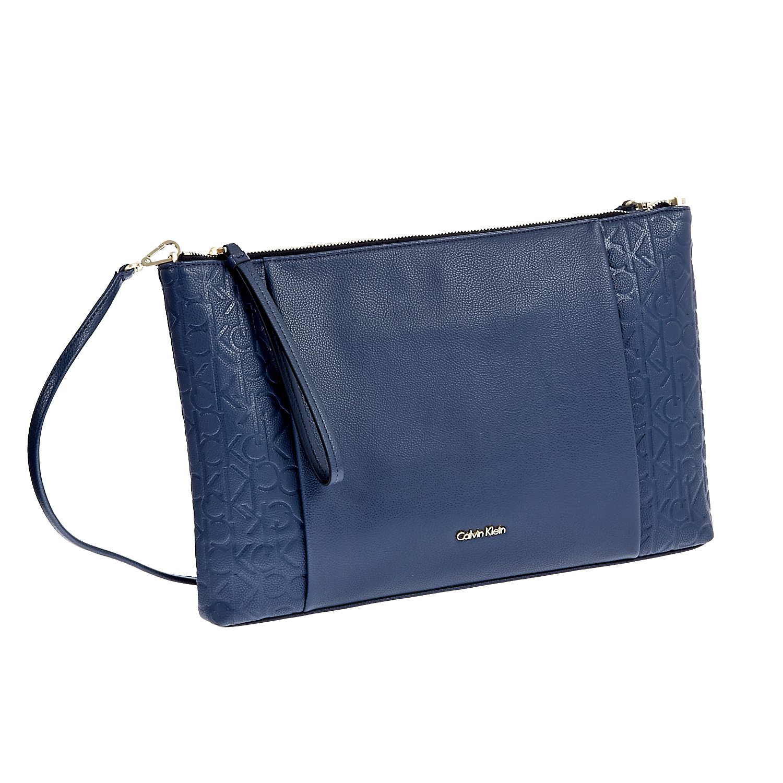 CALVIN KLEIN JEANS - Τσάντα Calvin Klein Jeans μπλε f536155984e