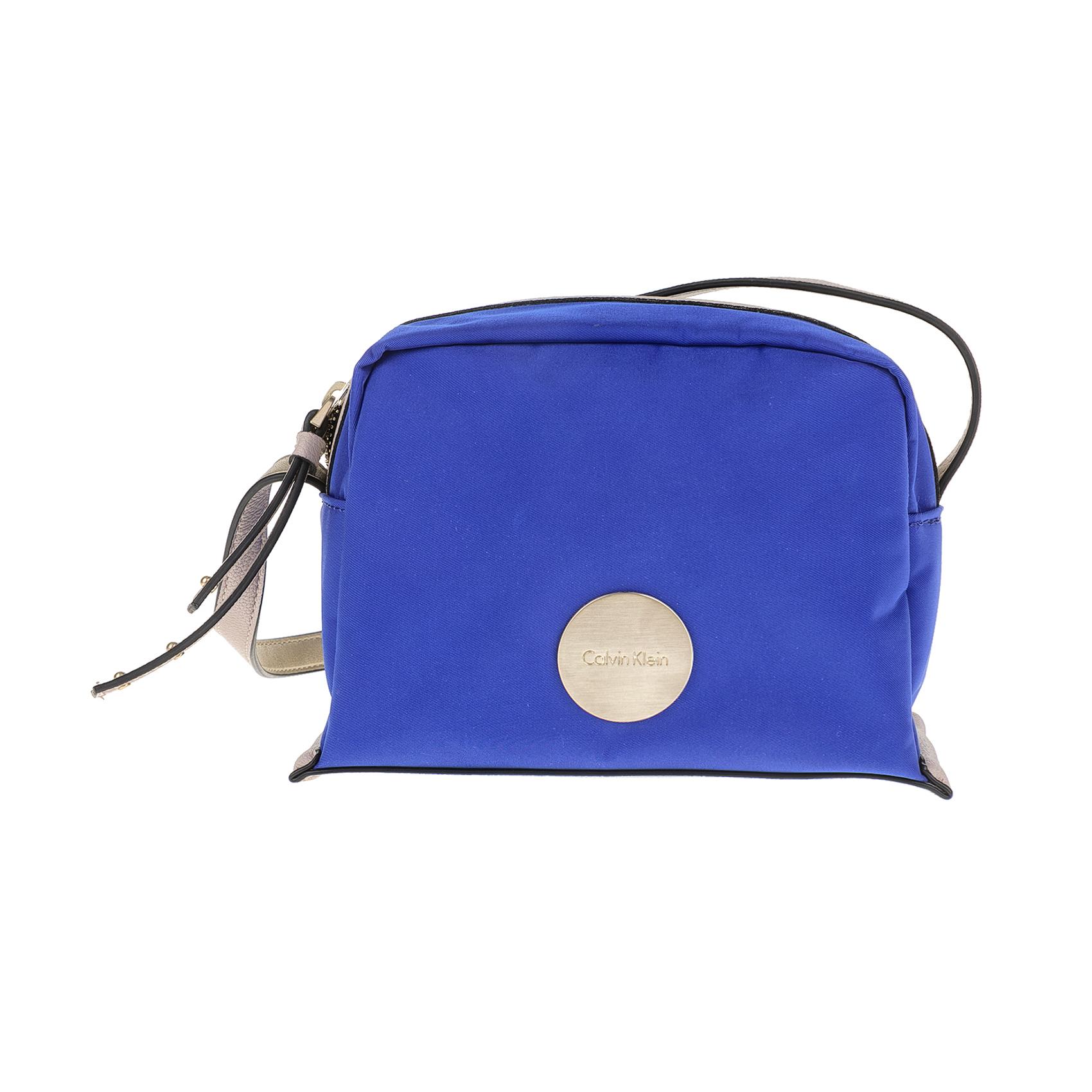 CALVIN KLEIN JEANS – Γυναικεία τσάντα CALVIN KLEIN JEANS EDITH SMALL μπλε ecc72522c15