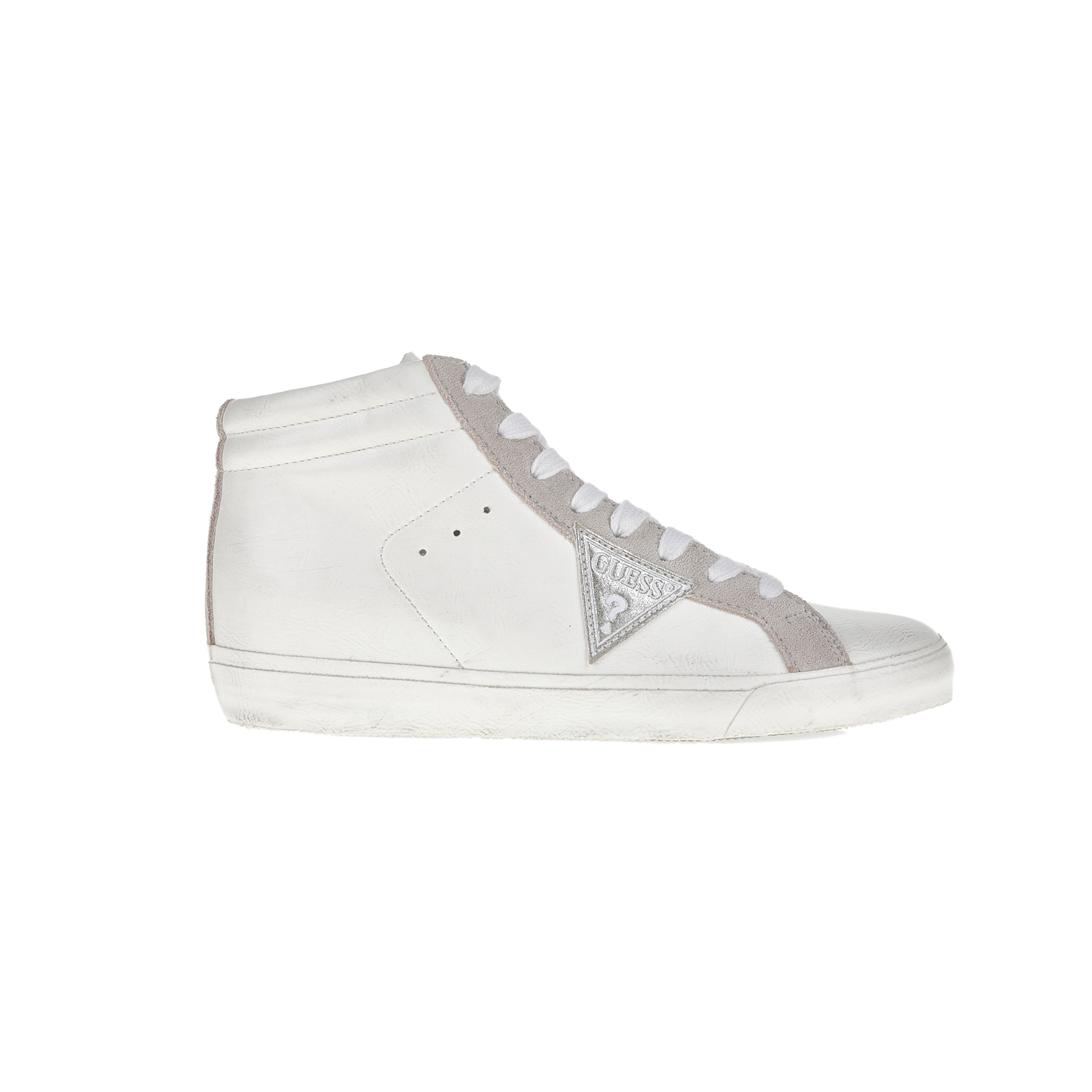 GUESS – Γυναικεία sneakers GUESS λευκά