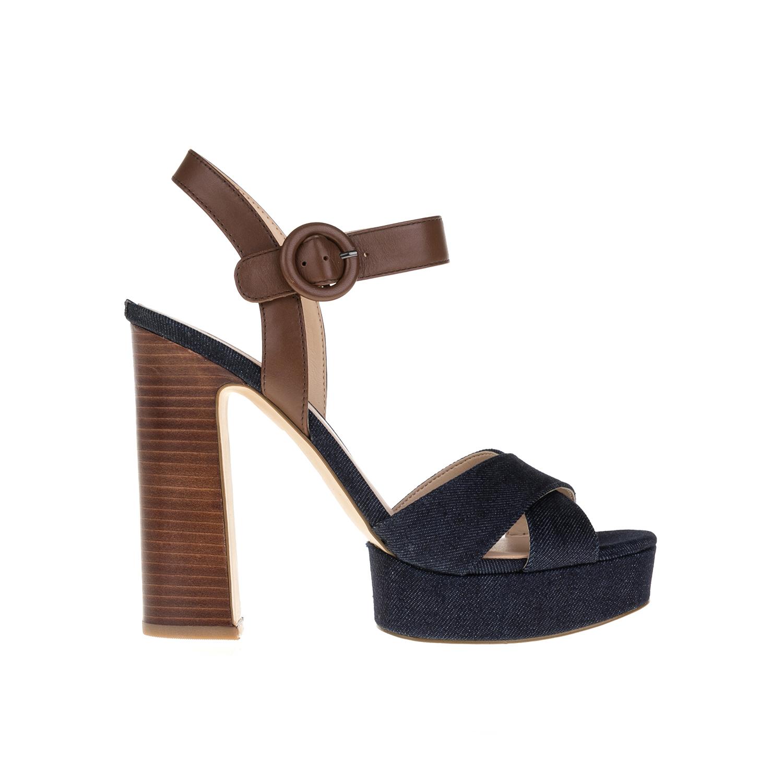 GUESS – Γυναικεία παπούτσια GUESS μπλε-καφέ