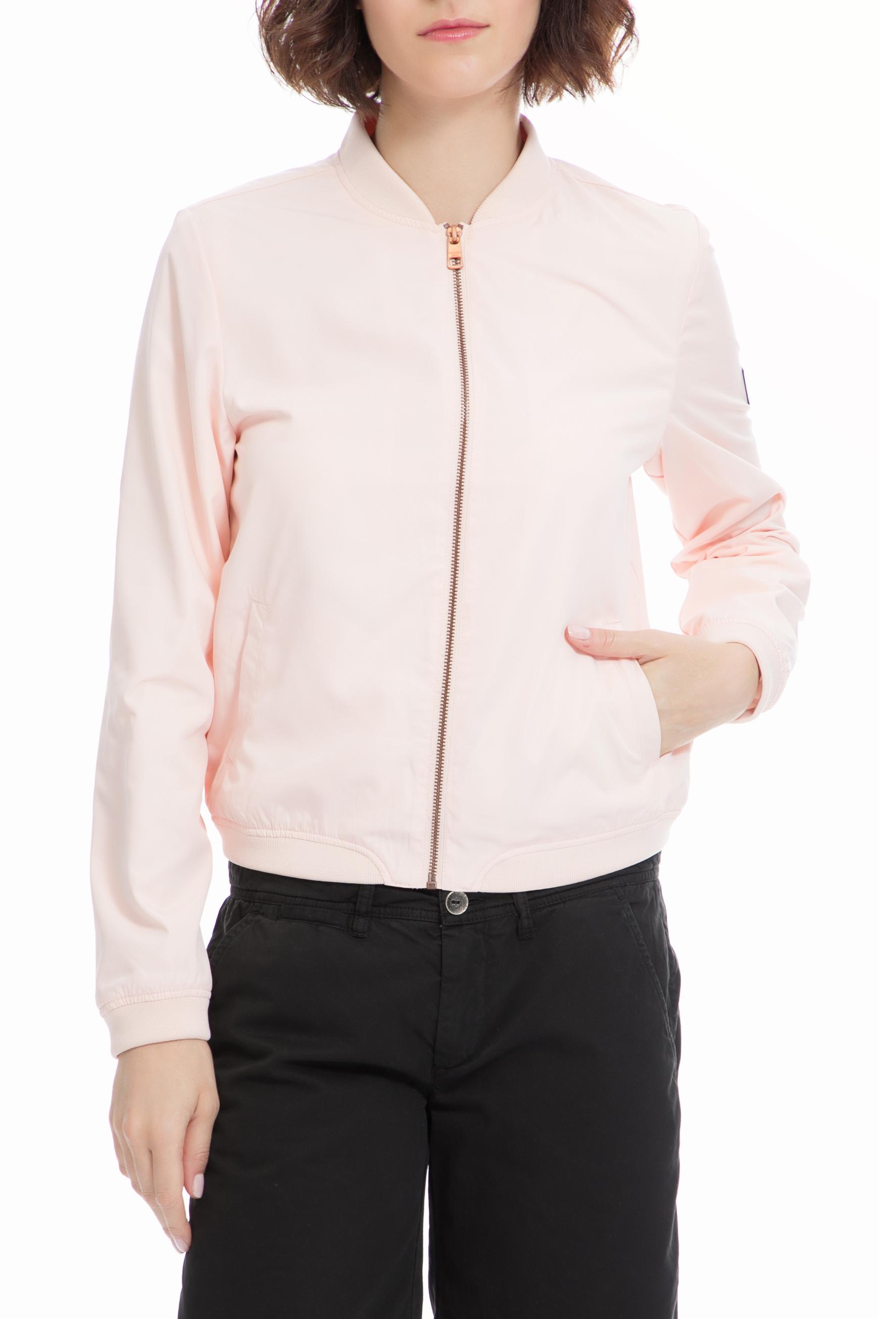 CALVIN KLEIN JEANS – Γυναικείο μπουφάν CALVIN KLEIN JEANS ροζ