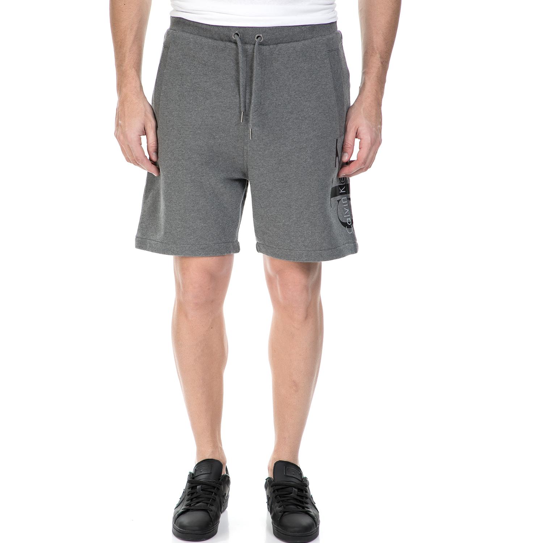CALVIN KLEIN JEANS - Ανδρική αθλητική βερμούδα HARO 4 TRUE ICON SWEAT Calvin Kle ανδρικά ρούχα σορτς βερμούδες αθλητικά