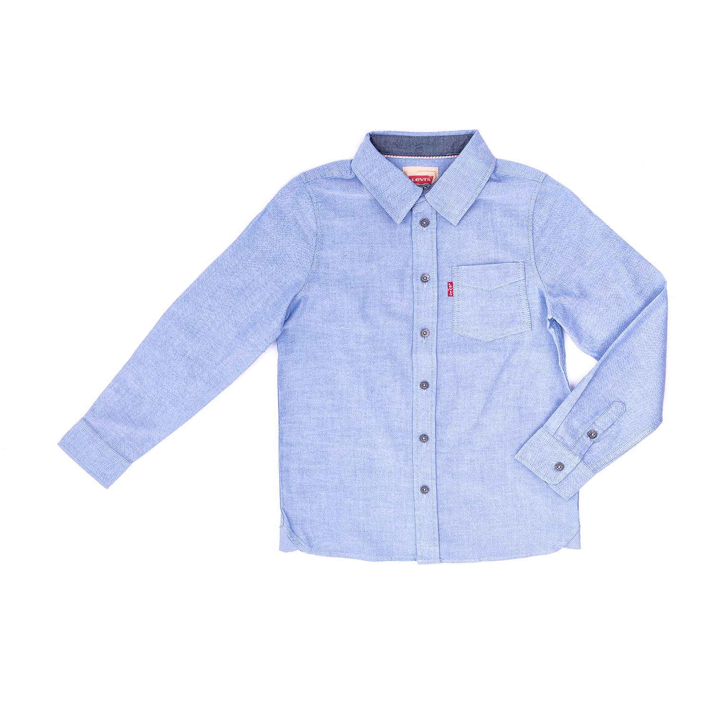 LEVI'S KIDS – Παιδικό πουκάμισο LEVI΄S μπλε