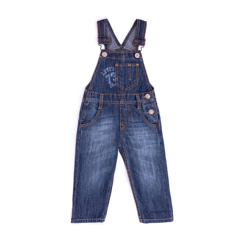 LEVI'S KIDS – Βρεφική σαλοπέτα LEVI΄S μπλε