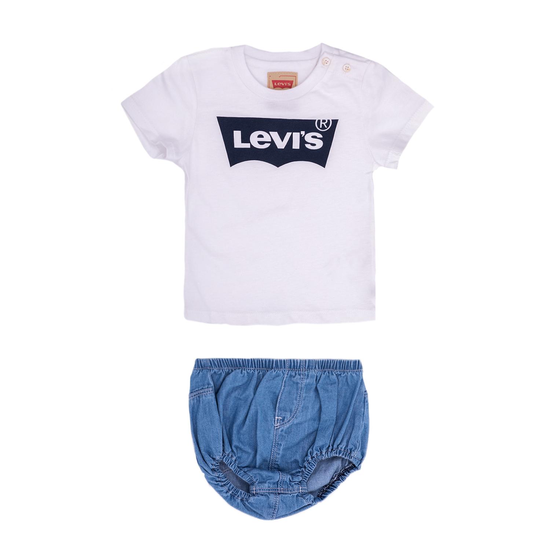 LEVI'S KIDS – Βρεφικό σετ Levi's Kids μπλε-λευκό