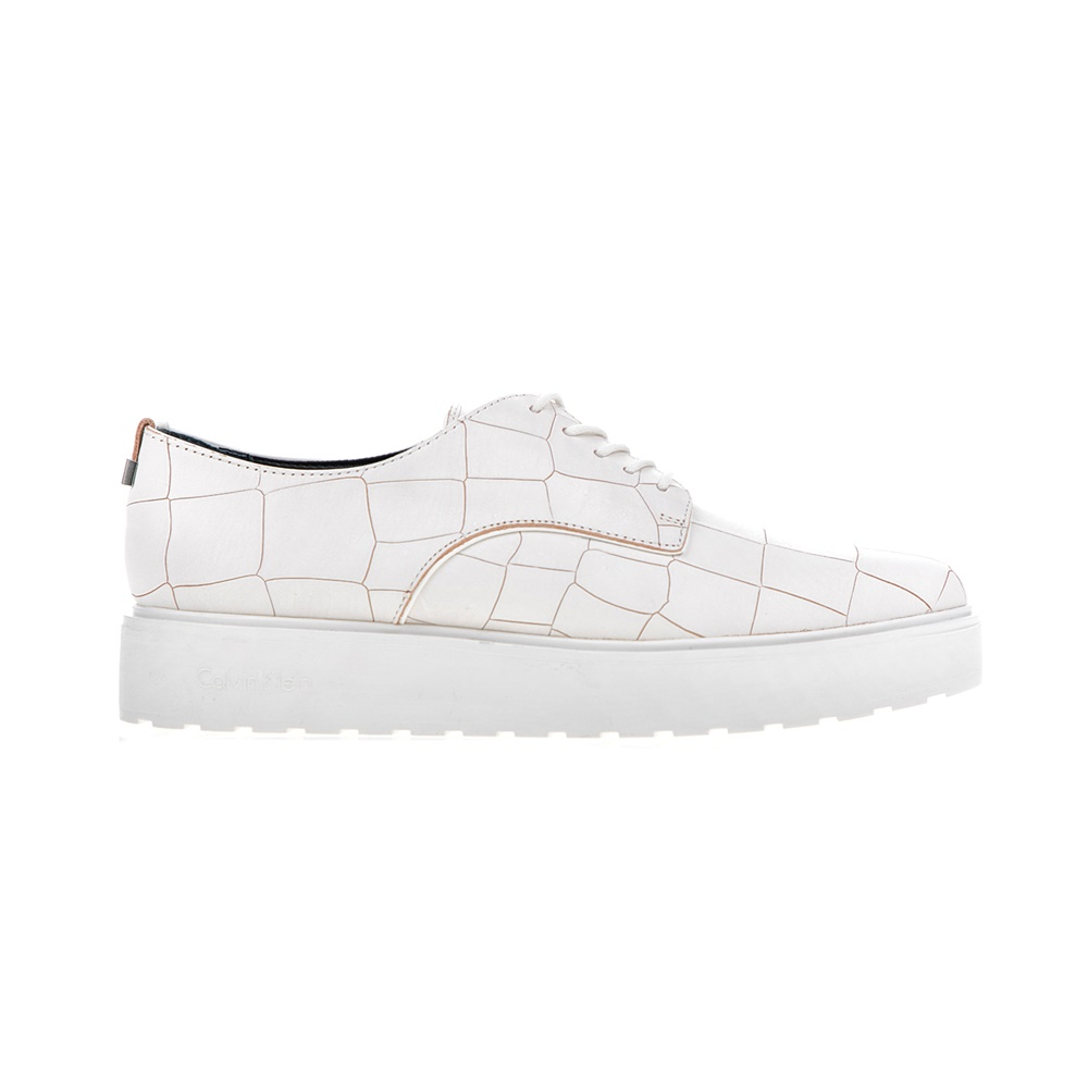 CALVIN KLEIN JEANS - Γυναικεία παπούτσια CALVIN KLEIN JEANS VICTORINA λευκά