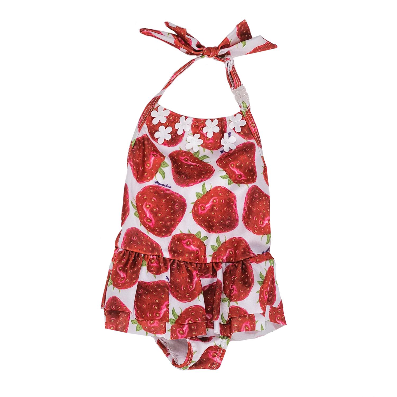 MONNALISA – Ολόσωμο μαγιό MONNALISA με φράουλες