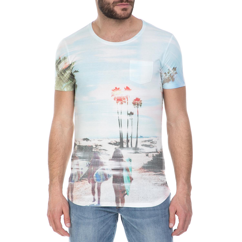 895162a9c57f GUESS - Ανδρική κοντομάνικη μπλούζα…