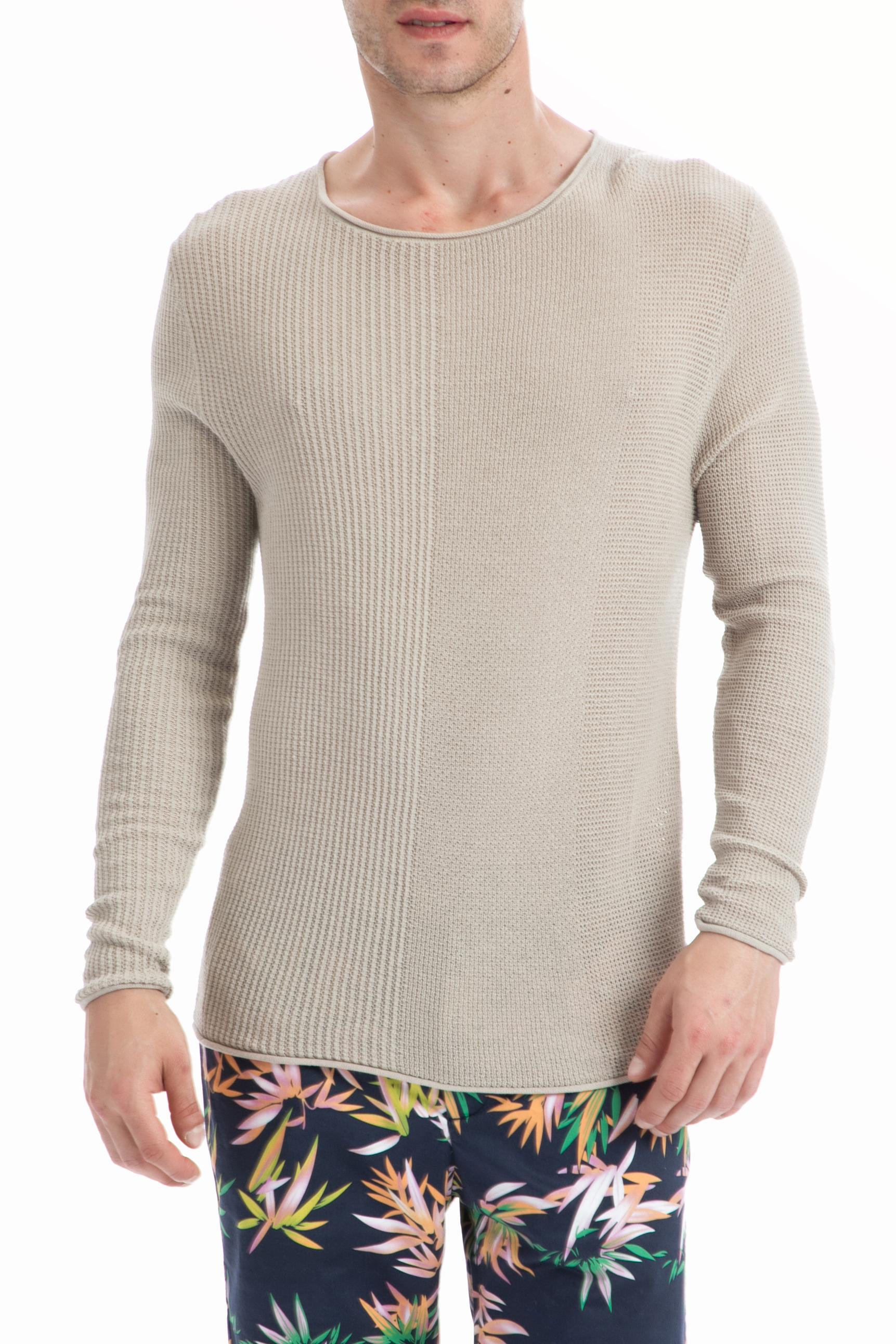 GUESS – Ανδρικό πουλόβερ Guess μπεζ