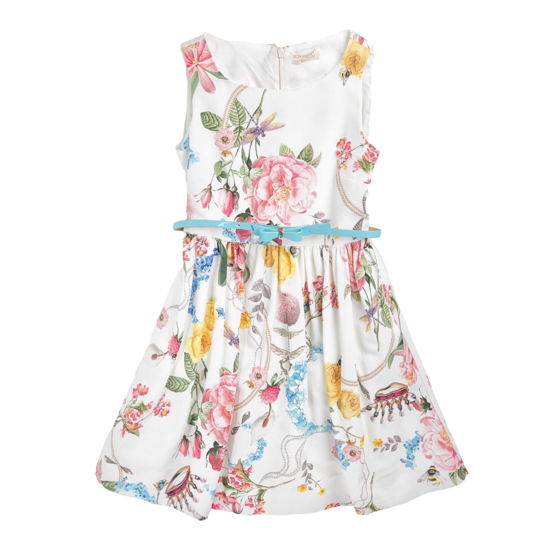 MONNALISA – Φόρεμα MONNALISA CORONET με φλοράλ μοτίβο