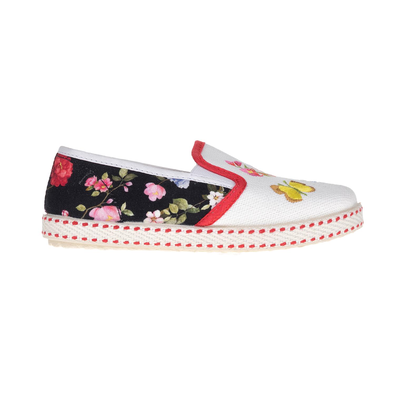 MONNALISA SHOES – Slip-on παπούτσια MONNALISA SHOES BOTANICO φλοράλ