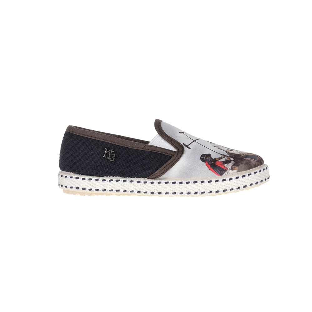 MONNALISA SHOES – Slip-on παπούτσια MONNALISA SHOES ST.POLO H+3 μπλε